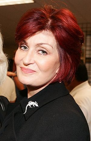 Cropped image of Sharon Osbourne at the Concer...