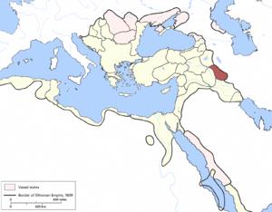 Shahrizor Eyalet - Image: Shehrizor Eyalet, Ottoman Empire (1609)