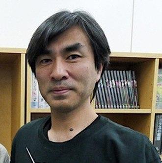 Shōji Kawamori - Shōji Kawamori in his studio, in May 2011