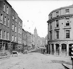 Tholsel - Image: Shop Street, Drogheda (8382251621)