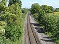 Shrewsbury to Chester Line at Rhosrobin, Wrexham (2).JPG