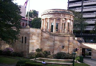 Shrine of Remembrance, Brisbane - Image: Shrine of Remembrance Anzac Square Brisbane