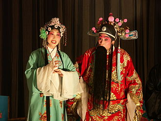 Musical theatre - Chinese opera performers