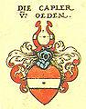 Siebmacher106-Die Capler von Oeden.jpg