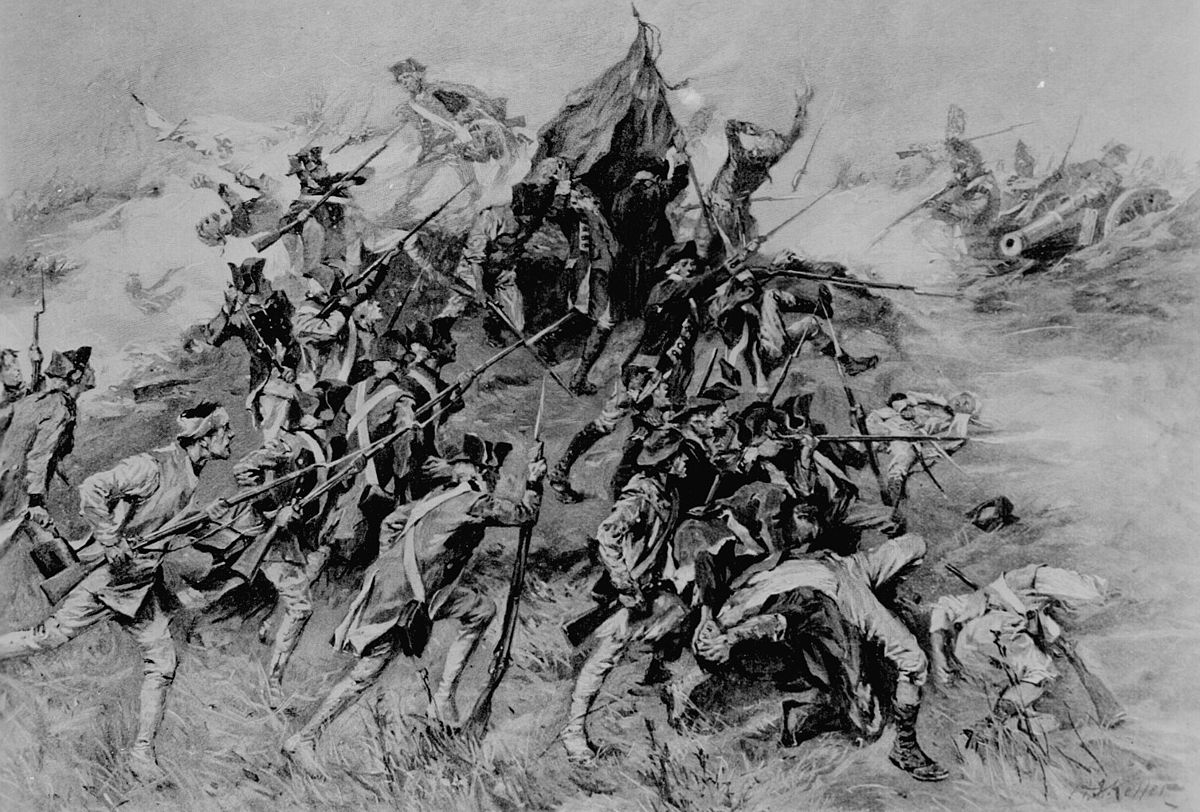 American Revolution Pictures Black And White