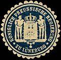 Siegelmarke Königlich Preussische Regierung zu Lüneburg W0260175.jpg