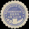 Siegelmarke K. Bayer. Gemeinde Berg am Laim W0385141.jpg