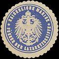 Siegelmarke K. Marine Führer der Lazarettschiffe W0357612.jpg