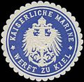 Siegelmarke K. Marine Werft zu Kiel W0363212.jpg