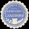 Siegelmarke Koenigreich Bayern Gemeinde Lengdorf W0293220.jpg