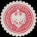 Siegelmarke Reichsbevollmächtigter für Zölle und Steuern Köln W0382032.jpg