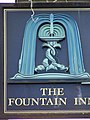 Sign for the Fountain Inn, Enmore Green - geograph.org.uk - 906723.jpg