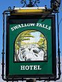 Sign for the Swallow Falls Hotel - geograph.org.uk - 558602.jpg