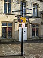 Signpost in Wells - geograph.org.uk - 1671728.jpg