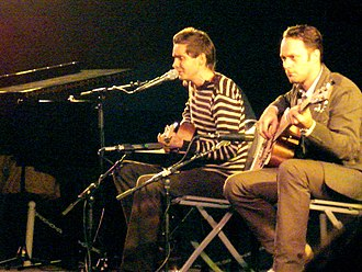 Sigur Rós - At UCLA in 2008, playing an acoustic set before screening Heima
