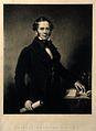 Sir Charles Hastings. Mezzotint by S. W. Reynolds, junior, a Wellcome V0002612.jpg