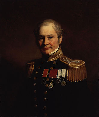 Edward Belcher - Portrait by Stephen Pearce, c. 1859
