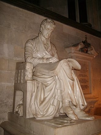 Sir Richard Hoare, 2nd Baronet - Monument to Sir Richard Colt Hoare in Salisbury Cathedral, Wiltshire, England.