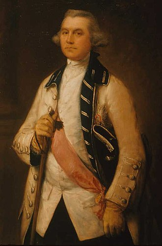 William Draper (British Army officer) - painting by Thomas Gainsborough