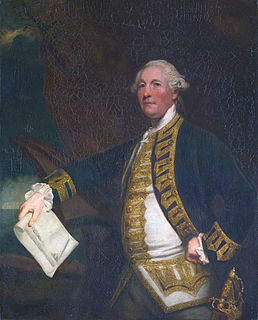 Sir William James, 1st Baronet Welsh naval commander in India
