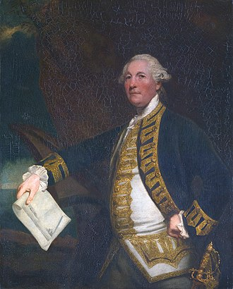 Sir William James, 1st Baronet - Commodore James, 1784 (painted by Joshua Reynolds)