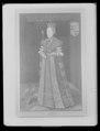 Släp till kröningsklänning, en s. k. robe de cour, Sofia Magdalena, 1772 - Livrustkammaren - 79704.tif