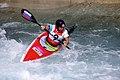 Slalom canoeing 2012 Olympics W K1 SLO Eva Tercelj.jpg
