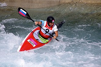 Slovenia at the 2012 Summer Olympics - Eva Terčelj in K-1 semifinal