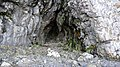 Small sea cut cave below Culzean Castle, South Ayrshire - external view.jpg