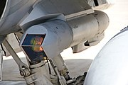 Sniper XR pod mounted on Canadian CF-188 (5624032086)