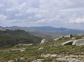 Snowy Mountains as seen from Kosciuszko Lookout.jpg