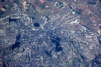 Sofia seen from space
