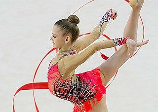 Aleksandra Soldatova Russian rhythmic gymnast