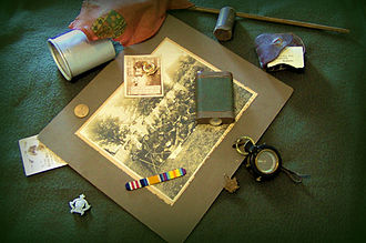 Heirloom - Mementoes from a soldier's war service may become valued family heirlooms in some cultures