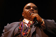 Solomon Burke performing on April 19, 2008