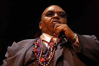Solomon Burke - Solomon Burke performing on April 19, 2008