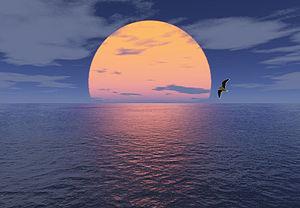 Water horizon (Computer graphics)
