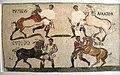 Sousse mosaic circus horses.JPG