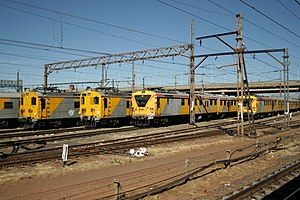 Transportation in Johannesburg - Image: South Africa Metrorail 001