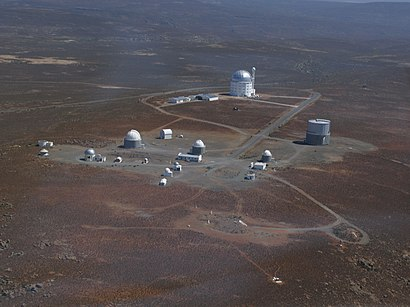 How to get to South African Astronomical Observatory with public transport- About the place