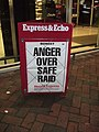South Devon newspaper headline - geograph.org.uk - 654812.jpg