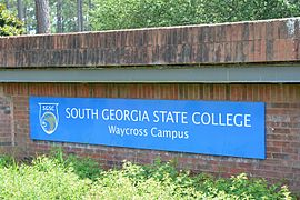 South Georgia State College Waycross Campus sign.jpg