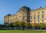 South facade of the Wurzburg Residence 16.jpg