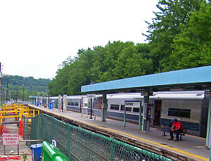 Southeast (Metro-North station) - The Southeast Metro-North train station.