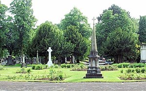 Southern Cemetery, Manchester - Gravestones and memorials in Southern Cemetery