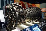 Space Shuttle main engine - Kennedy Space Center - Cape Canaveral, Florida - DSC02412.jpg