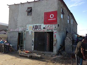 Spaza shop - Spaza shop in Joe Slovo Park, Cape Town