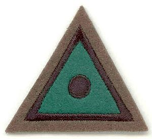 5th Regiment Royal Artillery - Special Observer Badge, worn by Soldiers who have passed STA Patrol Training