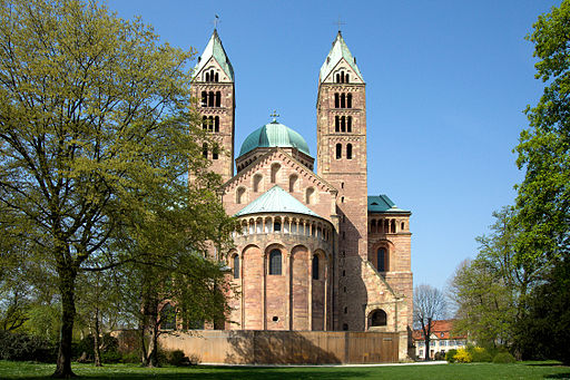 Speyer---Cathedral---East-View---(Gentry)