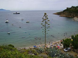 Isola del Giglio - Canelle Beach